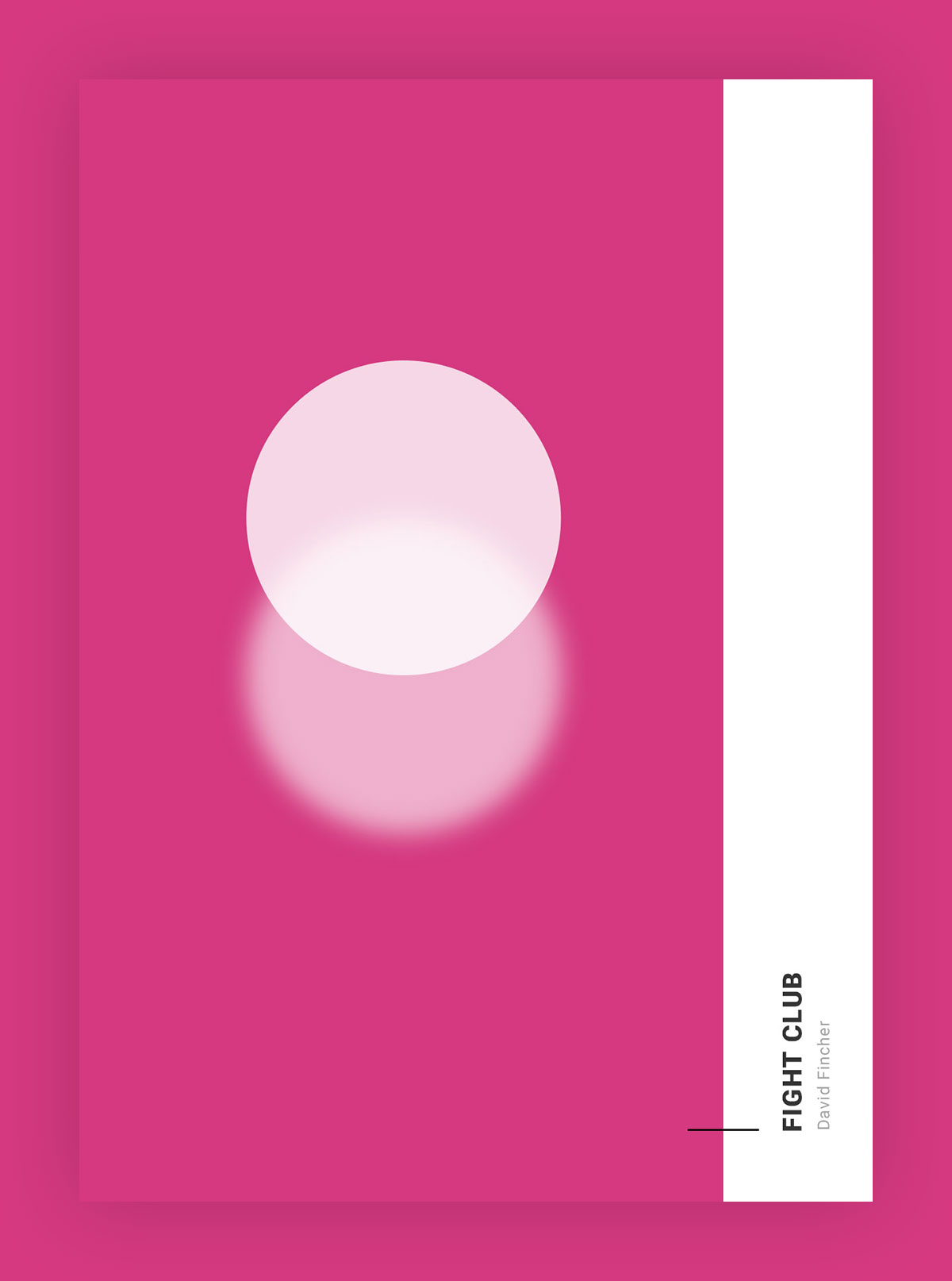 Minimal Movie Posters With Just Circles - Minimal movie posters nick barclay
